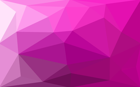 Purple violet magenta abstract geometric rumpled triangular low poly style gradient illustration graphic background. Vector polygonal design for your business.