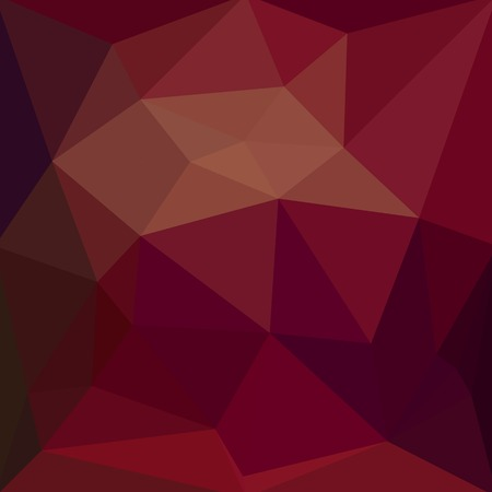 Low polygon Triangle Pattern abstract red color background mosaic style illustration or Geometric style Иллюстрация