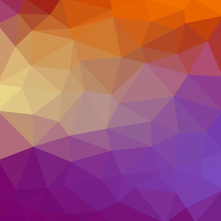 Abstract polygonal mosaic background. Vector illustration. Multi-color low poly gradient background. Polygon for , business card, banner, poster.