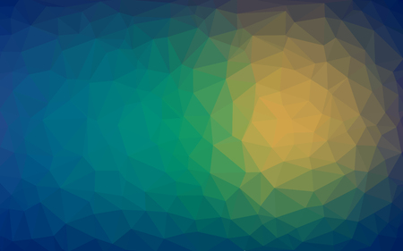 Abstract background of triangles warm texture Illustration