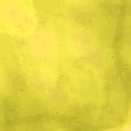 Yellow background with a watercolor texture Illustration