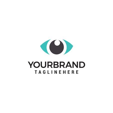 Creative Eye Concept Logo Design Template Archivio Fotografico - 113801884