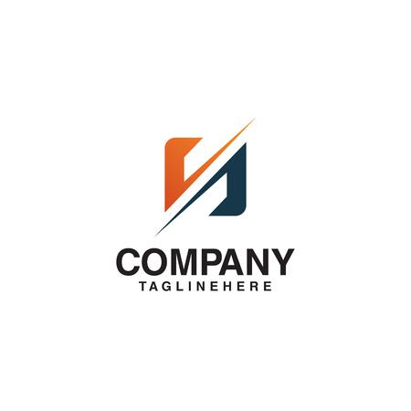 unikalne logo w kształcie litery N