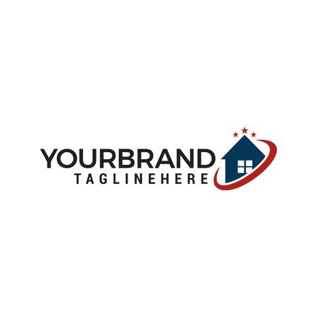 house star Logo designs Template vector