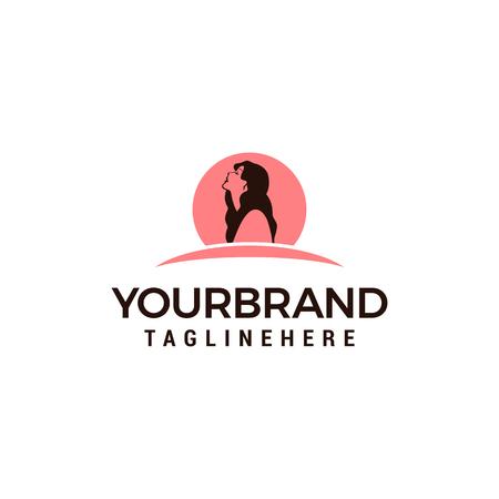 Beauty woman Logo . Use for beauty salon, spa, cosmetics design, etc