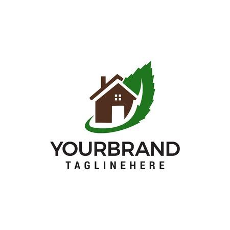 green house logo Template vector icon design