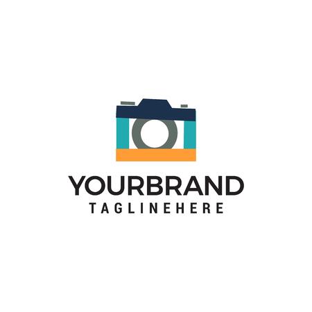 camera photo logo Template vector icon design