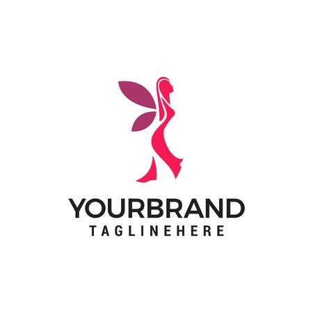women beauty logo Template vector icon design Illustration