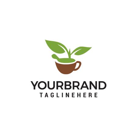 Nature Herbal Logo Template Design Vector