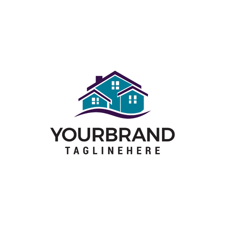 Creative Real Estate Logo Design. House Logo Design
