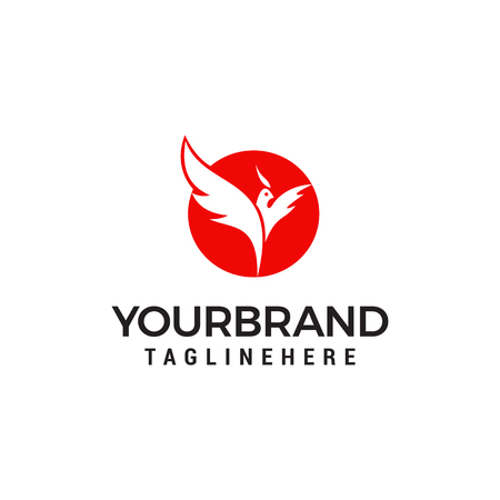 Phoenix Logo designs concept template
