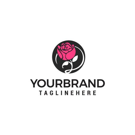 Flower spa cosmetic logo design concept template vector 写真素材 - 121785045