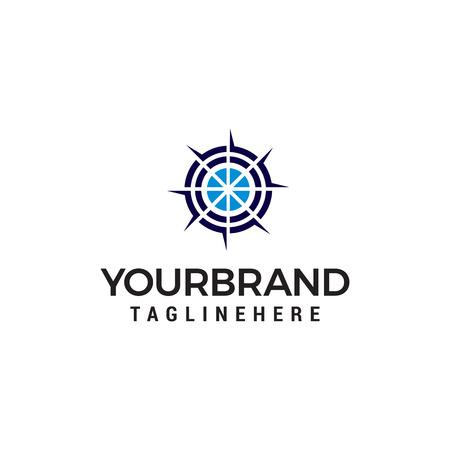 target logo design concept template vector