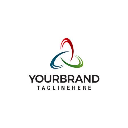 Triangle Logo business abstract vector design template logo design concept vector