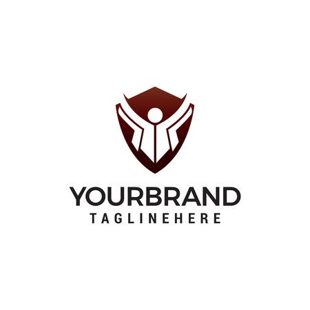 education logo design concept template vector