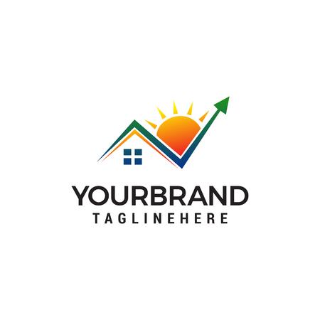 Check mark Home Logo design concept template vector Reklamní fotografie - 123318606