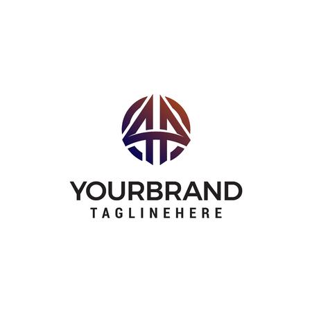 arrow logo design concept template vector