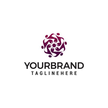 note logo design concept template vector Ilustração