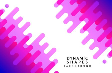 flat dynamic wavy form with irregular parallel rounded lines Background with transparency for banner, card, poster, flyer . Line style design element. 스톡 콘텐츠 - 127908459