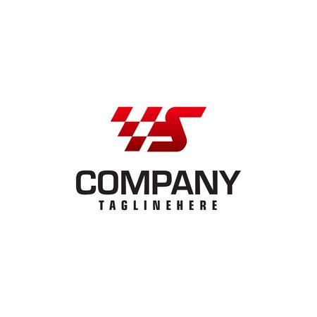 Auto speed letter S logo template vector illustration Reklamní fotografie - 129616471
