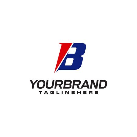 unique  that forms the letter B matches your company.  inspiration B Ilustrace