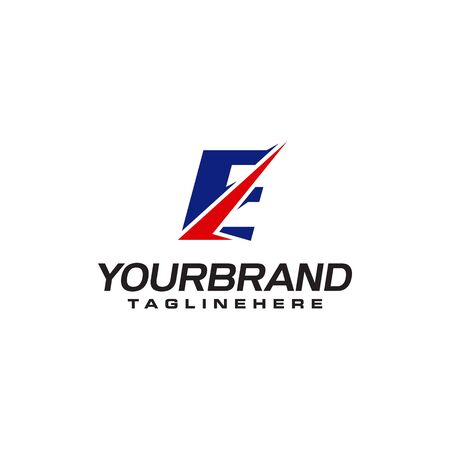unique  that forms the letter E matches your company.  inspiration E Ilustrace