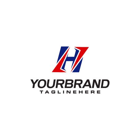 unique  that forms the letter H matches your company.  inspiration H