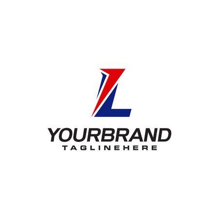 unique  that forms the letter L matches your company.  inspiration L