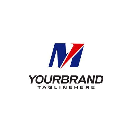 unique  that forms the letter M matches your company.  inspiration M