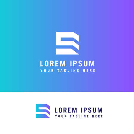 E Letter Property Logo Template design concept .