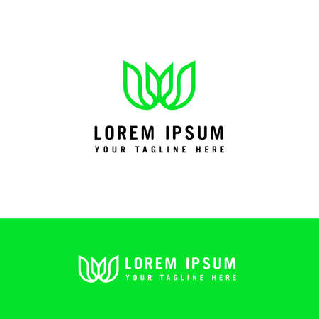 Letter W Logo Icon . Initial Letter W Design Vector Logo design concept template. Ilustração
