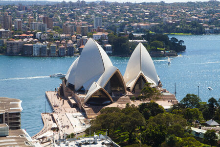 Sydney Opera House - view from the back
