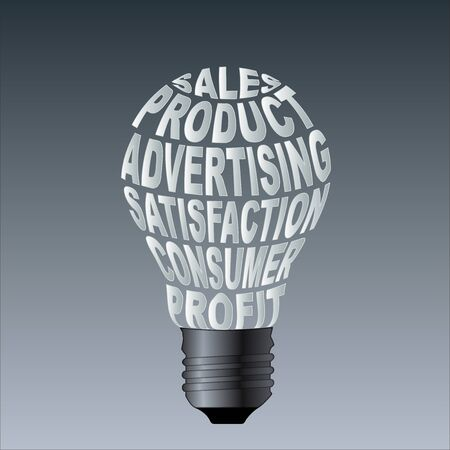 shoppe: Paper Bulb of sales product advertising satisfaction consume profit