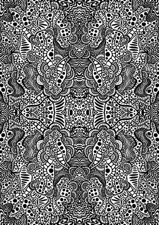 hypnotic psychedelic tattoo graphic background photo