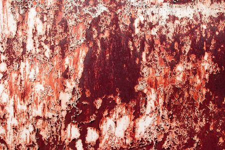 corrosion: Corrosion grunge surface with paint