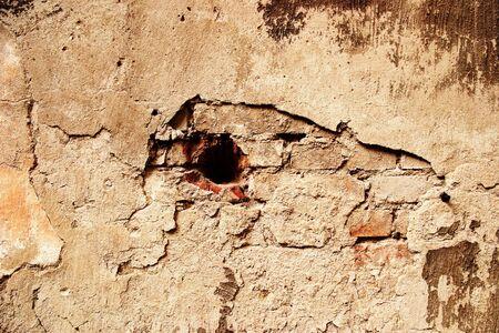 Cracked concrete grunge cement background