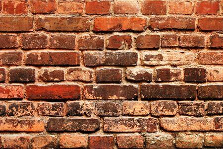 Cracked grunge brickwall back ground photo