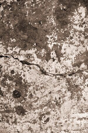 Grunge cement background with crack photo
