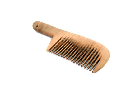 Isolated comb with loss hair photo