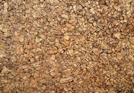 cork board: Brown cork wood back ground