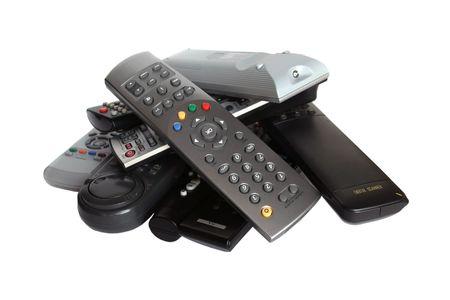 panel de control: Muchos dispositivos de control remoto de