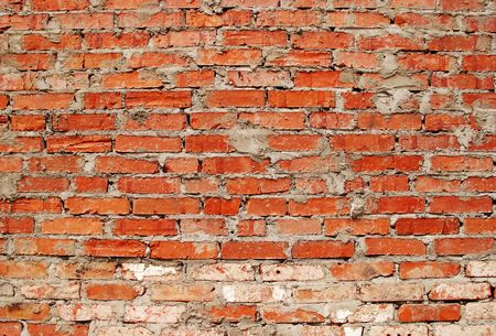 Background of the red brickwall photo