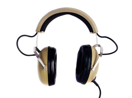 Old style hi fi headphones Stock Photo - 6785431