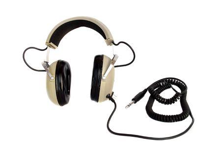 hi fi: Old style hi fi headphones