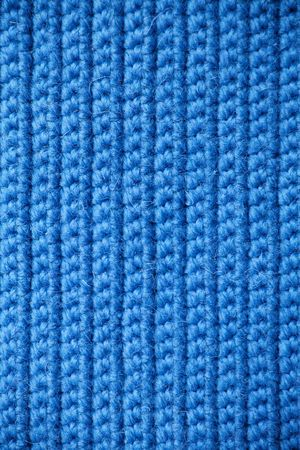 Abstract texture of knitting wool photo