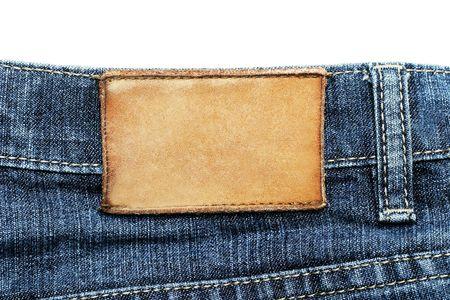 Jeans label Stock Photo - 6786558
