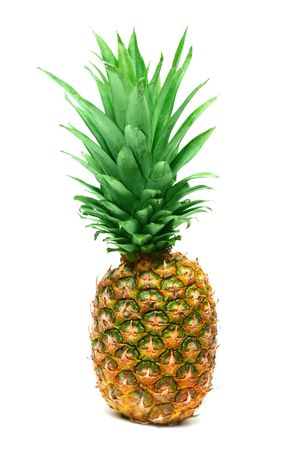 pineapple isolated on white background Stock Photo - 6786084