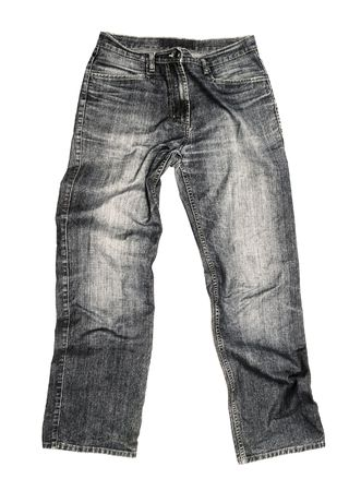 Jeans isolated on white background Stock Photo - 6789258