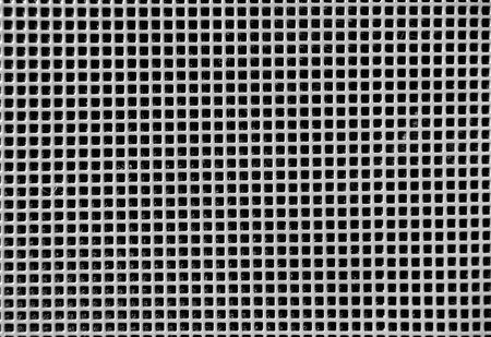Metallic grid photo