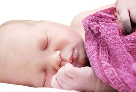 1 day old baby Stock Photo - 6788774